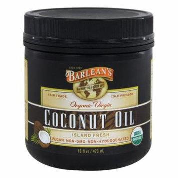 Barlean's Organic Virgin Coconut Oil, 16-Ounce(pack of 3)