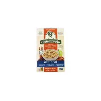 Glutenfreeda Gluten Free Instant Oatmeal Variety Pack -- 8 Packets pack of 6