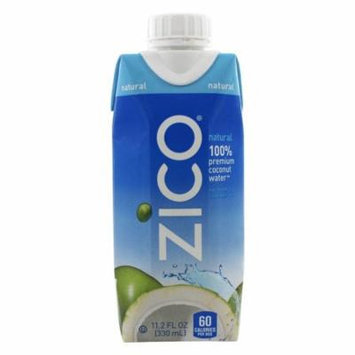 Zico - Pure Premium Coconut Water Natural - 11.2 oz(pack of 6)