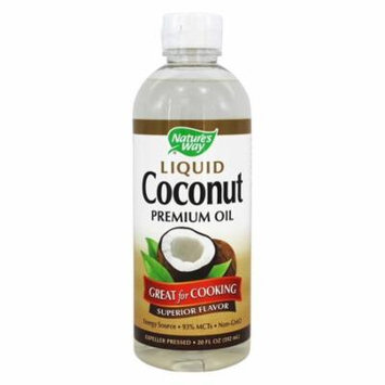 Nature's Way Coconut Oil, Liquid 20 Oz(pack of 1)