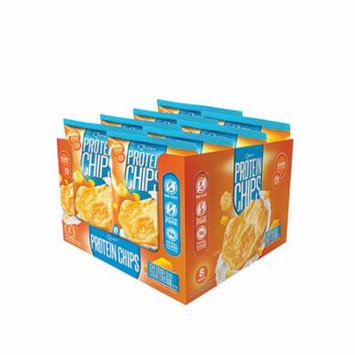 Quest Nutrition Protein Chips Sour Cream & Cheddar -- 8 Bags pack of 3