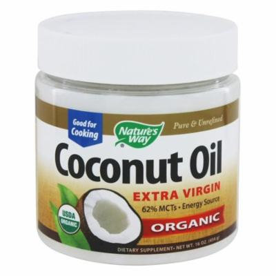 Nature's Way Organic Extra Virgin Coconut Oil, 16 Ounce(pack of 2)