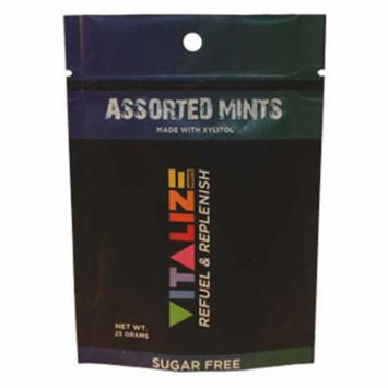 Vitalize Mints Assorted Mints 1 oz Pouches - Pack of 3