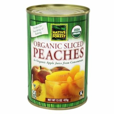 Native Forest - Peaches Sliced Organic - 15 oz(pack of 6)