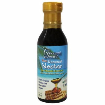 Coconut Secret - Raw Coconut Nectar Low Glycemic Sweetener - 12 oz(pack of 4)