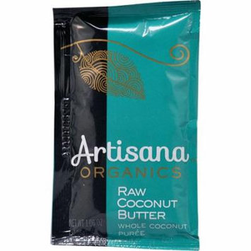 Artisana Organic Raw Coconut Butter Squeeze Pack -- 1.06 oz pack of 12