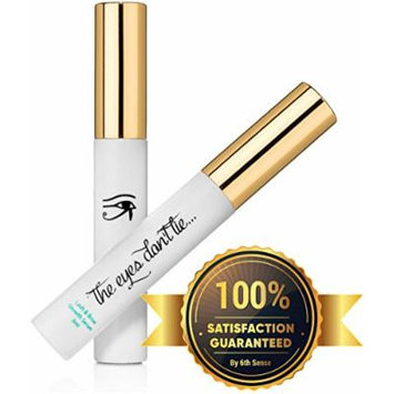 100% NATURAL EYELASH & EYEBROW GROWTH SERUM, Lengthens, Defines, Strengthens Lashes and Eyebrows, No Artificial Ingredients for Glamorous Women Who Want Luxurious, Long Lashes