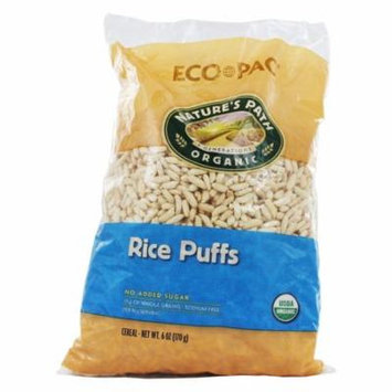 Nature's Path Organic - Cereal Rice Puffs - 6 oz(pack of 4)