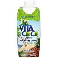 Vita Coco - Coconut Water 330 ml. Pineapple - 11.1 oz(pack of 4)