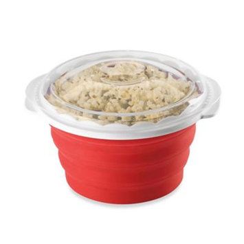 Cuisinart Microwave Popcorn Maker in Red/White