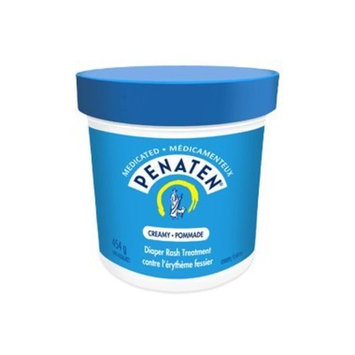 Penaten Medicated Creamy Diaper Rash Treatment, 454g