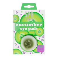 Jean Pierre Spa Studio Eye Pads, Cucumber, 10 Ct