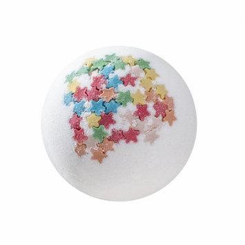 Jujunx Bath Ball Gift, Deep Sea Bath Salt Body Essential Oil Bath Ball Natural Bubble Bath Bombs Ball (White)