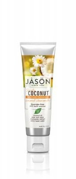 Simply Coconut Soothing Coconut Chamomile Toothpaste Jason Natural Cosmetics 4.2 oz Paste