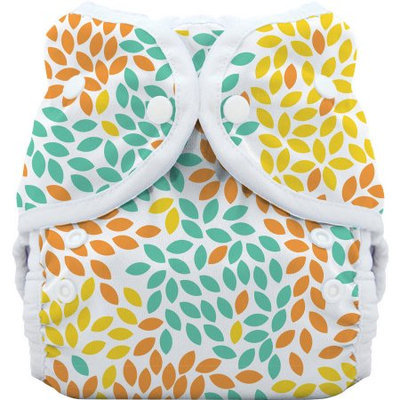 Thirsties Snap Duo Wrap - Fallen Leaves - Size One