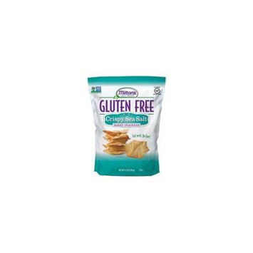 Milton's Gluten Free Baked Crackers Crispy Sea Salt -- 4.5 oz pack of 3