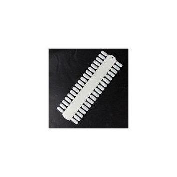 Beauticom 36 Nail Polish Display Card - 10pcs - White