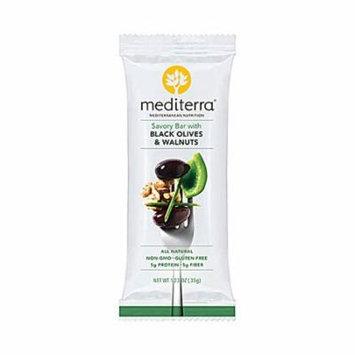 Mediterra Gluten Free Savory Bar Black Olives & Walnuts -- 1.4 oz pack of 6