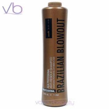 Brazilian Blowout Acai Anti-Residue Shampoo 34oz