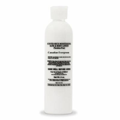 Canadian Evergreen Grade A Scented Body Lotion (8 oz Bottle)