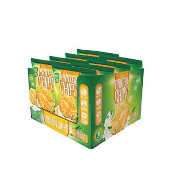 Quest Nutrition Protein Chips Sour Cream & Onion -- 8 Bags pack of 3