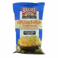 Boulder Canyon Natural Foods Kettle Cooked Potato Chips -- 6.5 oz pack of 4