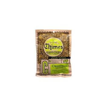 Chimes Ginger Chews Original -- 5 oz pack of 4
