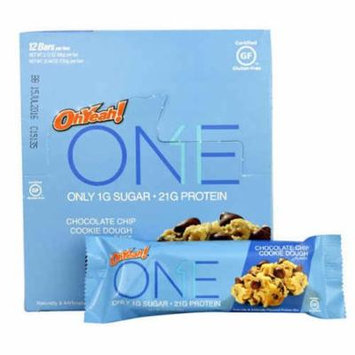 ISS Research OhYeah!® ONE Protein Bar Chocolate Chip Cookie Dough -- 12 Bars pack of 1