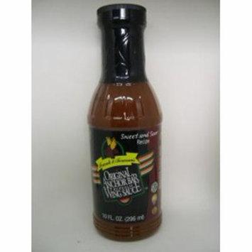 Anchor Bar Wing Sauce 12oz Bottle: Sweet & Sour