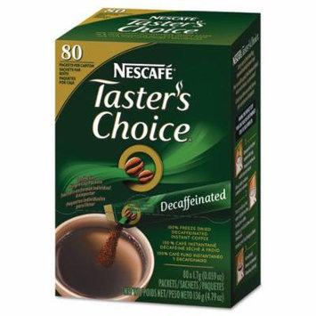 Coffee-mate 66488 Premium Instant-Coffee Single-Serve Sticks, Decaf, .06oz, 80/Box