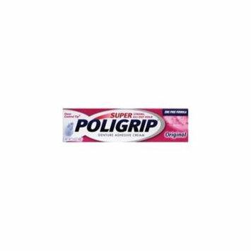 SUPER POLIGRIP Denture Adhesive Cream Original 1.40 oz Each