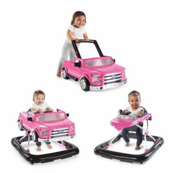 Bright Starts 3 Ways To Play Ford F150 Baby Walker, Pink