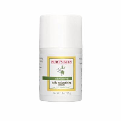 Burt's Bees Sensitive Daily Moisturizing Cream w/ Cotton Extract 1.8 Oz