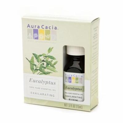 Aura Cacia Pure Essential Oil, Exhilarating Eucalyptus 0.5 fl oz(pack of 6)