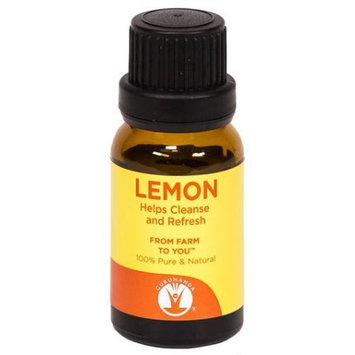 GuruNanda Aromatherapy 100% Pure & Natural Lemon Essential Oil,15ml
