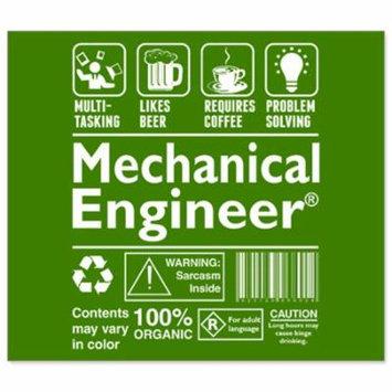 Beer Bottle Labels - Beer Coffee Problem Solving Mechanical Engineer - Set of 6