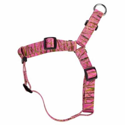 Country Brook Design® Pink Waterfowl Camo Step-In Dog Harness