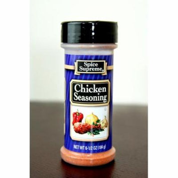 Pack of 12 Spice Supreme Chicken Seasonings 6.5 oz. #30170