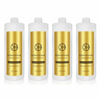 Keratin For Hair Smoothing 4 Piece Kit Formaldehyde Free Treatment Tratamiento Suavizante 32 fl oz / 946.35 ml