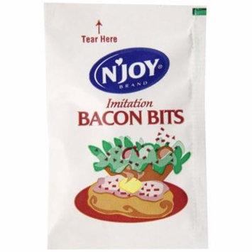 500 PACKS : N'joy Imitation Bacon Bits