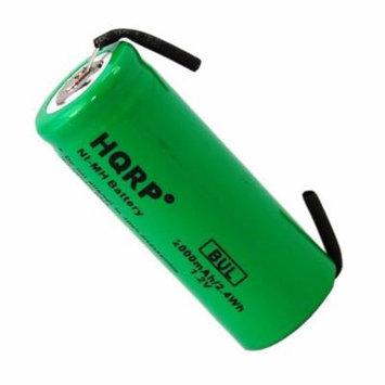 HQRP Battery for Philips Sonicare HP610 HP735 HX2575 HP405 HP355 HP500 HP505 HP510 HP710 HX7800 Toothbrush Repair + HQRP Coaster