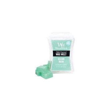Clean Rain WoodWick Hourglass 3 oz Wax Melt