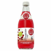 GUS Dry Cranberry Lime 12 Oz Glass Bottle - Pack of 12
