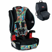 Britax Frontier G1.1 ClickTight Harness-2-Booster Car Seat With Britax Car Seat Travel Bag, Vector