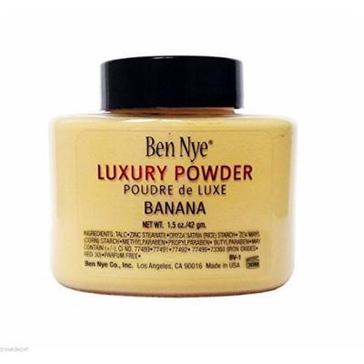 Ben Nye Authentic Luxury Banana Powder Bottle Face Makeup Kim Kardashian, 1.5 oz.