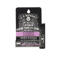 JR Watkins Raspberry Lip Balm Peg, 0.15 Oz