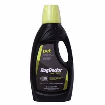 Rug Doctor Pure Power Pet Spot Cleaner Solution, Pro-Enzymatic Formula Breaks Down Tough Pet Stains, Eco-Friendly Formula is Clean and Safe for Kids and Pets, 32oz