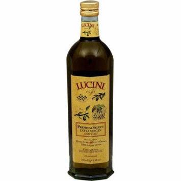 Lucini Extra Virgin Premium Select Olive Oil, 25.4 fl oz, (Pack of 6)