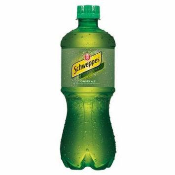 Schweppes Ginger Ale 20 Oz Plastic Bottles Pack of 24