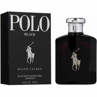 Polo Black by Ralph Lauren Eau de Toilette Spray 4.2 oz (Pack of 4)